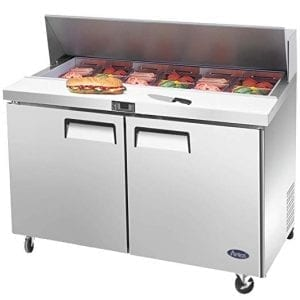 Commercial Sandwich / Salad Prep Refrigerators