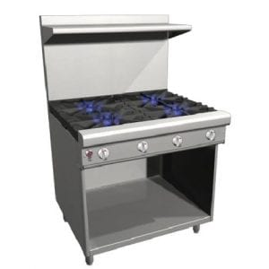 Restaurant Ranges with Cabinet