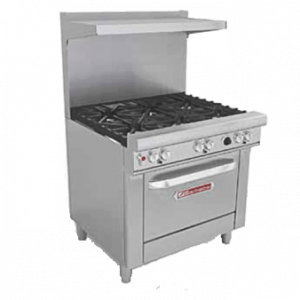 Restaurant Ranges with Standard Oven(s)
